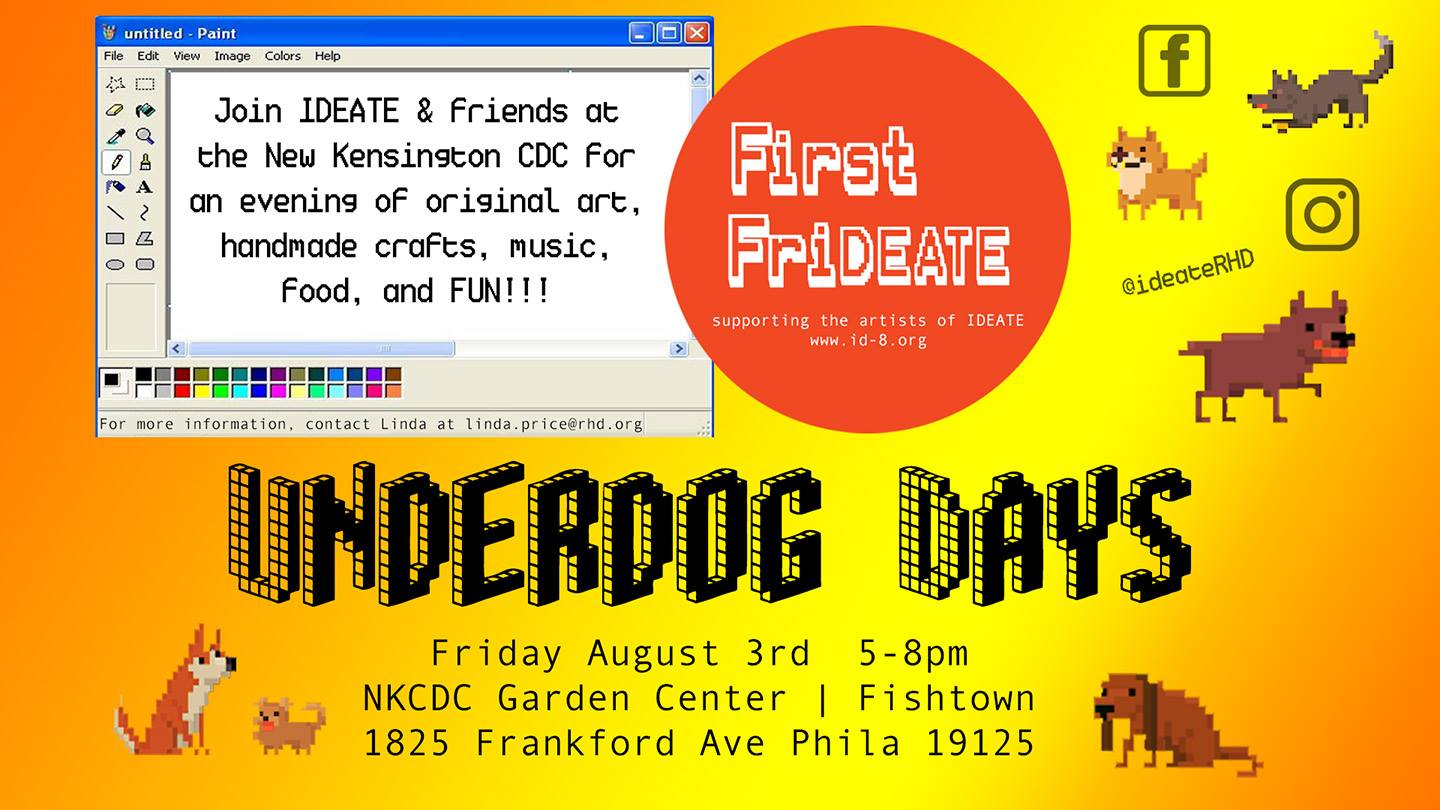 """Underdog"" Days of Summer: 1st FrIdeate"